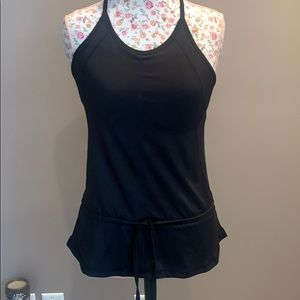 Work out top with built in bra